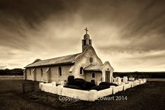 Sepia Tone Beautiful Old Adobe Spanish by PhotosbyJerryCowart