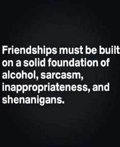 Friendship Foundations