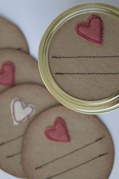 mason jar lid crafts - Google Search