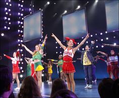 LOVE Bring It On the musical, and LOVE Elle Mclemore as Eva!