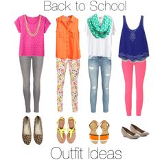 Back to school outfit ideas dont really like the first outfit