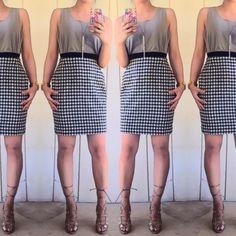 Final price  Vintage Escada skirt Gorgeous wool print skirt by Escada. Size 38 fits like a size 6 Escada Skirts
