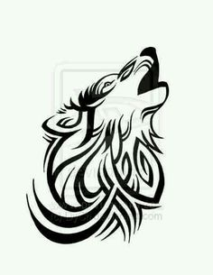 Lone Wolf Tattoo by ~DyCh on deviantART. I just like it cause it looks cool and is tribal Tribal Tattoos, White Feather Tattoos, Tattoos Skull, Body Art Tattoos, Sexy Tattoos, Music Tattoos, Tribal Drawings, Drawing Tattoos, Tribal Tattoo Designs