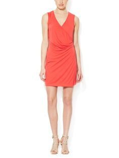 Marty Draped Dress from Throw On