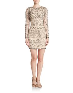 Cut-Out Bodycon Dress | Lord and Taylor
