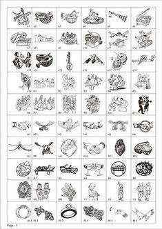 Wedding Symbols, Hindu Wedding Cards, Wedding Cards Handmade, Wedding Logos, Hindu Weddings, Wedding Card Design Indian, Wedding Album Design, Wedding Albums, Wedding Clip