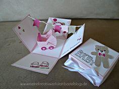 Explosionsbox Baby Mädchen, Stampin up, www.meinekreativwerkstatt.bastelbogs.de