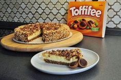 Toffifee-Toffee-Käsekuchen http://www.cakefriday.de/2015/01/toffifee-toffee-kasekuchen.html