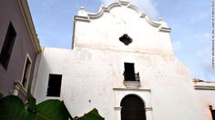 Iglesia de San Jose (San Jose Church) in Old San Juan, Puerto Rico, was built in 1532 and is one of the last remaining Spanish Gothic structures in the Western Hemisphere. It has been closed for 13 years and is deteriorating. One of the oldest churches in the western hemisphere