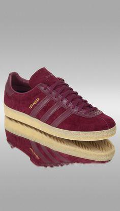 adidas Originals Topanga: Collegiate Burgundy