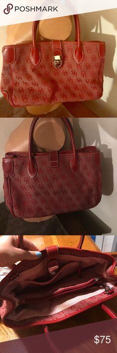 Downey & Bourke Purse Red Downey and Bourke shoulder purse authentic Dooney & Bourke Bags Shoulder Bags