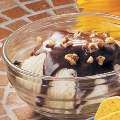 Cinnamon Chocolate Sundaes  Made this twice in one week. Super easy and super yummy
