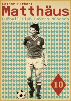 Lothar Matthäus - Sucker for Soccer on Behance