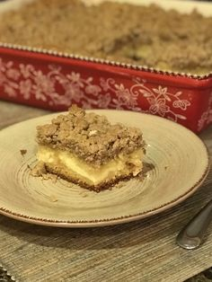 Cream Cheese Coffee Cake with Cinnamon Streusel - Feeding a large family with little time