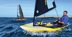 Best Innovation category in Sailing World's 2014 Boat of the Year awards, the Tiwal 3.2 is the world's first high performance sailing dinghy | © tiwal.com http://www.windcheckmagazine.com/tiwal_3_2_fast_inflatable_fun