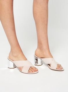 COSMIC Hexagon Mule as part of an outfit