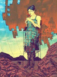 Angela Kam Comic Art