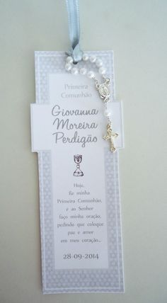 Souvenir confirmacion Souvenir confirmacion Baptism Party Favors, Communion Favors, Baptism Invitations, First Communion Cards, First Holy Communion, Baby Baptism, Christening Gifts, Party Organisers, Holy Communion Dresses
