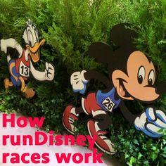 How runDisney races work