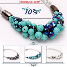 #Online_Shopping #Shopping_Online @ Khoobsurati.com Get Upto 10% Off On #Necklaces  VISIT:- http://khoobsurati.com/women/jewellery/necklaces