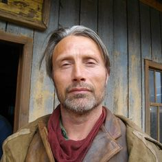Mads Mikkelsen #thesalvation #behindthescenes. Source: leandriepotgieter on Instagram