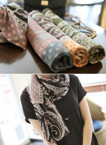 Republic of Korea reigning Women's Clothing Store [CANMART] Easley dot scarf / Size : FREE / Price : 19.63 USD #accessory #scarf #korea #fashion #style #fashionshop #apperal #koreashop #missy #canmart