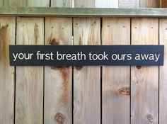Your First Breath Took Ours Away -- Subway Art