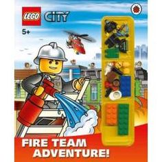 Booktopia has LEGO City : Fire Team Adventure , Storybook with Lego Minifigures and Accessories by Ladybird. Buy a discounted Hardcover of LEGO City : Fire Team Adventure online from Australia's leading online bookstore. Lego City Fire, Ladybird Books, Buy Lego, Shopping World, Lego Friends, Baby Birthday, Great Gifts, Baseball Cards, Adventure