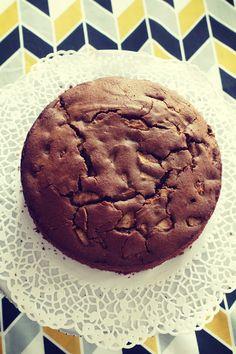 Bezglutenowe ciasto korzenne z gruszkami