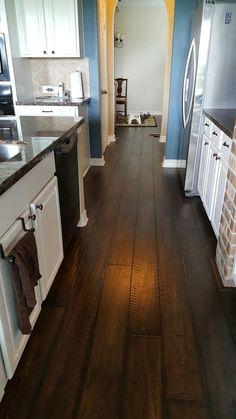 Very nice!  Wood floor installation in Katy Texas