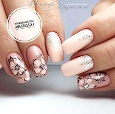 How to easily remove the semi-permanent nail polish? - My Nails Cute Acrylic Nails, Cute Nails, Pretty Nails, Fall Nail Art Designs, Gel Nail Designs, Pink Nails, My Nails, Nagel Stamping, Nagel Bling