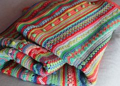 Okay, I've been looking for my inspiration and this is my next afghan to do!  Ravelry CAL