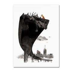 Robert Farkas 'The Last Of Us' Canvas Art