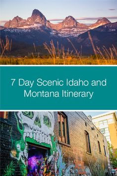 Two of the most scenic states have joined forces to give you an itinerary with loads of wide-open spaces yet chock-full of fun. Chock Full, Open Spaces, Idaho, Montana, Meet, Fun, Travel, Flathead Lake Montana, Viajes