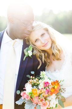A Sophisticated Flower-Filled Wedding at Daniel Stowe Botanical Gardens in Belmont, North Carolina