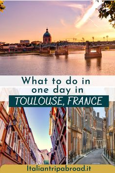 one day in toulouse | one day in toulouse | things to do in toulouse | things to do in toulouse france | toulouse france things to do | toulouse things to do | what to do in toulouse france | what to do in toulouse | toulouse what to do | toulouse france | #toulouse #france #europe Paris France Travel, Paris Travel Tips, Travel Tips For Europe, Road Trip Europe, Top Travel Destinations, Travel Abroad, France Europe, Europe Continent, Toulouse France