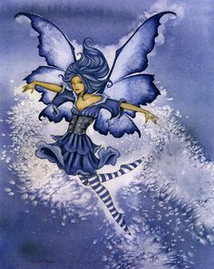 amy brown - snow faery