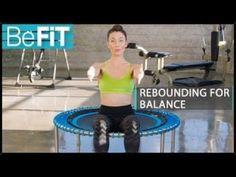 (25) Rebounding Workout for Balance & Rejuvenation: BeFiT- Fayth Caruso - YouTube #weightlossamazon,