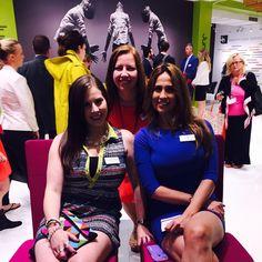 The lovely ladies of Sedia Systems #neoconography #neocon15 #ladiesofneocon #jumpseatstudio #sediasystemsshowroom