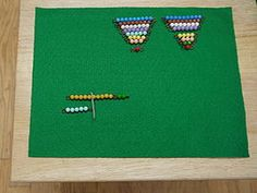 Subtraction With Bead Bars