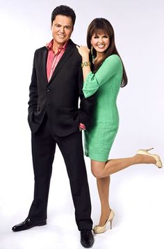 Donny & Marie.Was my very first crush.Please check out my website thanks. www.photopix.co.nz