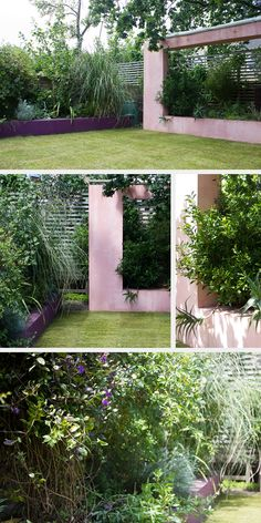 Modern Structures In Landscape Studio Satta London Garden Designers Back Gardens Small