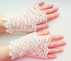 Milk White Bridal Gloves Wedding Fingerless Gloves Crochet Lace Vintage Summer Gloves Victorian Lace Mitts Women's Gloves Bridesmaid Gift Crochet Wedding, Crochet Lace, Lace Gloves, Women's Gloves, Lace Weddings, Wedding Lace, Wedding White, Romantic Weddings, Fingerless Gloves Crochet Pattern