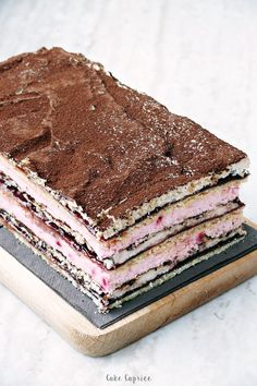 Unique Desserts, Sweet Desserts, Delicious Desserts, Yummy Food, Eastern Cuisine, Sweets Cake, Oreo Cheesecake, Polish Recipes, Homemade Cakes