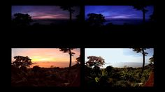 Beautiful timelapse sunset in Koh Chang Island - Thailand.