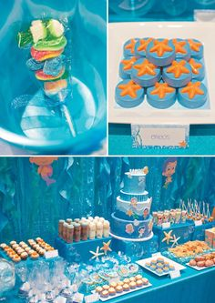 Under the Sea Bubble Guppies Birthday Party