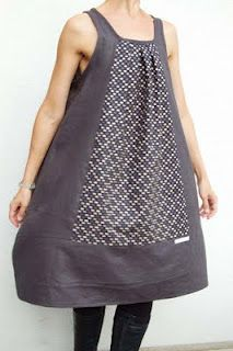 japanese dress,nice idea with the design in the front!