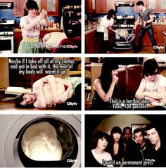 this episode of new girl got me hooked on the show. i couldn't believe i laughed all the way through the entire episode