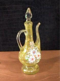 Bohemian Enameled Glass Ewer for Ottoman Turkish Islamic Market (09/09/2013)