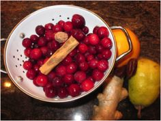 Raw Cranberry Relish